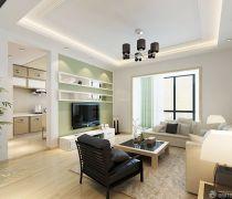2020/现代简约风格小客厅装修效果图片