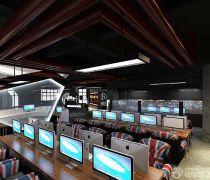 世界上最豪华的网吧大厅效果图