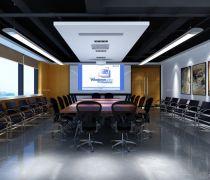 简约公司会议室防滑漆装修效果图