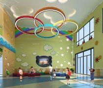上海幼儿园大厅室内装修图