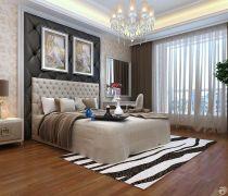 有飘窗的卧室室内装潢效果图