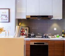 现代时尚北欧风格厨房吊柜装修图片