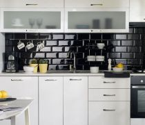 小厨房墙砖设计图