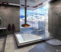 厕所吊顶造型装修效果图片