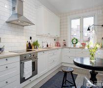 北欧风格厨房墙砖
