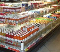 国内超市货架陈列效果图