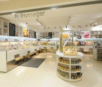 小型超市产品展示柜装修
