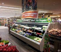 传统超市产品展示柜装修效果