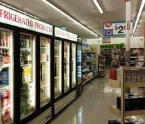 40-50平米超市吊顶灯装修效果图片