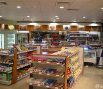 经典40-50平米超市扣板吊顶装修效果图片
