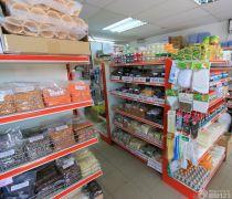 简单40-50平米超市货架装修效果图片
