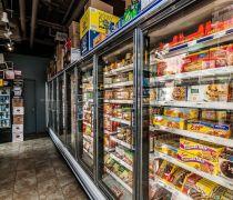 40-50平米超市产品展示柜装修效果图