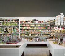 40-50平米超市装修货架效果图片