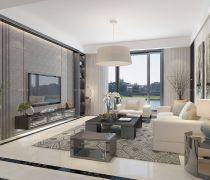 90平方的房子客厅家具装修图
