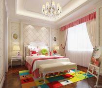 北欧80平米的房子卧室装修图