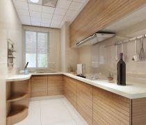 80平米的房子厨房橱柜装修图片