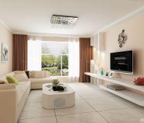 80平米的房子客厅家具装修图