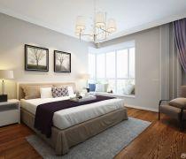 80平米的房子家居卧室装修图