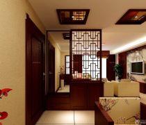 80平米房子客厅隔断装修设计图