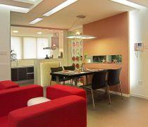 现代风格80平米房子装修设计图