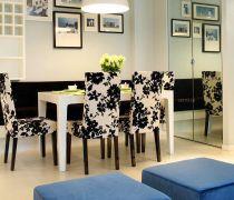 80平方的房子餐椅装修效果图片