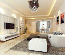 80平方的房子客厅室内装修图