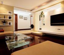 70平米两室一厅一厨一卫家装装饰设计图