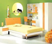 70-80平方小户型儿童房的设计装修图