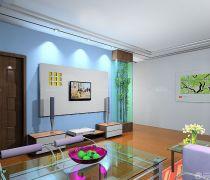 70-80平方小户型客厅装修设计图