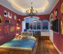 70-80平方小户型卧室榻榻米装修图片