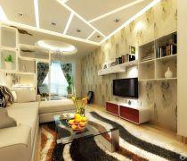 60平方一室一厅小户型家装吊顶设计装饰图